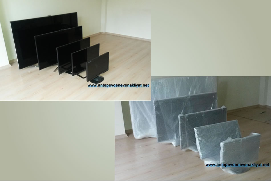 LCD Televizyon paketlemesiz